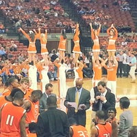 Photo taken at Frank Erwin Center (ERC) by Joe G. on 11/28/2012