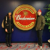 Photo taken at Anheuser-Busch Brewery Experiences by Cristina R. on 12/27/2012