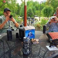 Photo taken at The Blue Donkey by Christine Q. on 8/7/2015