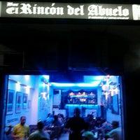 Photo taken at El Rincon Del Abuelo by Ricardo H. on 2/24/2013