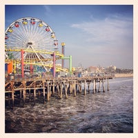 Photo taken at Santa Monica Pier by Ty W. on 10/26/2013