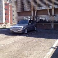 Photo taken at Complejo Deportivo Y Recreativo FCAB by Pablo A. on 4/11/2014