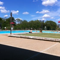 Photo taken at The Pool at LBJ Park by Fredrik O. on 7/10/2013