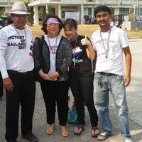Photo taken at ที่ว่าการอำเภอหลังสวน จ.ชุมพร by ณัฏฐนันท์ ค. on 3/29/2014