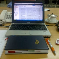 Photo taken at Honda Jakarta Center (PT Imora Motor) by Nino T. on 1/22/2013