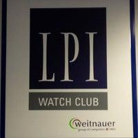Photo taken at LPI Watch Club by Евгений З. on 2/9/2013