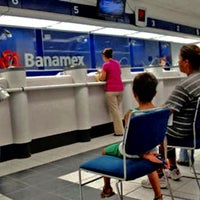 Photo taken at Banamex by Manuel E. on 8/1/2016
