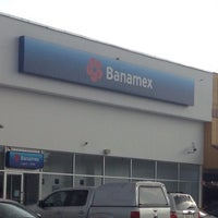 Photo taken at Banamex by Manuel E. on 7/18/2016