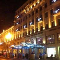Снимок сделан в Corinthia Hotel St.Petersburg пользователем SERGEYKRABBE . 12/17/2012