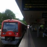 Photo taken at Bahnhof Pinneberg by Иван В. on 8/9/2017