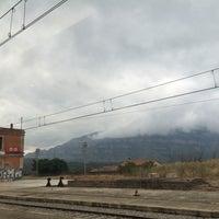 Photo taken at RENFE Sant Vicenç de Castellet by Nati on 8/21/2014