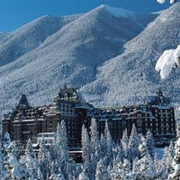 Photo taken at The Fairmont Banff Springs Hotel by Chris G. on 12/22/2012