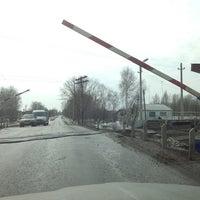 Photo taken at Ж/Д переезд by Николай К. on 4/2/2013