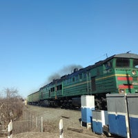 Photo taken at Ж/Д переезд by Николай К. on 4/13/2013