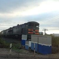 Photo taken at Ж/Д переезд by Николай К. on 9/17/2013