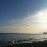 Photo taken at Plaj by Olena K. on 12/27/2012
