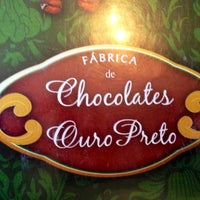 Photo taken at Chocolates Ouro Preto by Juu S. on 7/17/2013