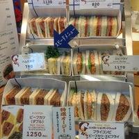 Photo taken at サンドウィッチハウス グルメ那覇空港店 by Nakagushi M. on 10/20/2013