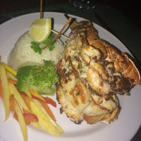 Photo taken at Lidia's restaurant Jolly Beach Resort & Spa by Alexandra S. on 12/24/2014