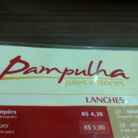 Photo taken at Pampulha Pães e Doces by Bruna M. on 11/4/2012