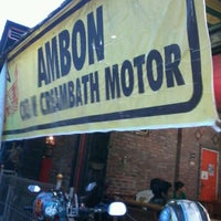 "Photo taken at Cuci &  Creambath Motor ""AMBON PROJECT"" by Dony C Y on 11/3/2012"