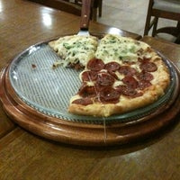 Photo taken at Pizza One by Caíssa C. on 3/25/2013
