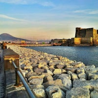 Photo taken at Lungomare di Napoli by Gaetano P. on 11/9/2012