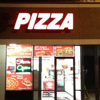 Photo taken at Jet's Pizza by Juan P. on 4/6/2013