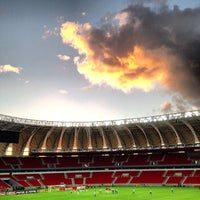 Photo taken at Beira-Rio Stadium by Gabriel A. on 2/16/2014
