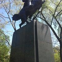 Photo taken at José Julian Martí Monument by Anna Vaughn Hyatt Huntington by Justin M. on 4/30/2013
