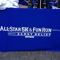 Photo taken at MLB All-Star 5K & Fun Run by Justin M. on 7/13/2013