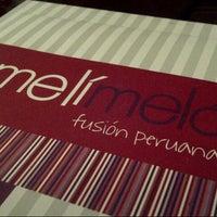 Photo taken at Meli Melo Fusion peruana by antociano on 12/13/2012