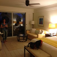 Photo taken at Four Seasons Resort Nevis, West Indies by Timmy P. on 6/9/2013