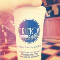 Photo taken at Primos Cafe by Andrew S. on 5/24/2013
