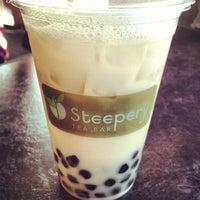 Photo taken at Steepery Tea Bar by Nico B. on 3/28/2013