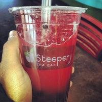 Photo taken at Steepery Tea Bar by Nico B. on 4/3/2013