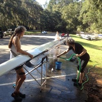 Photo taken at Alfred B. Maclay Gardens State; Tallahassee Rowing Club by am j. on 10/6/2012