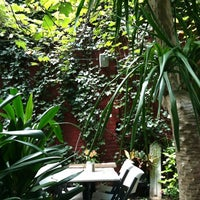 Photo taken at The Cloister Cafe by Laura C. on 9/16/2012