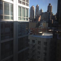 Photo taken at Hampton Inn Manhattan - Times Square North by Tommy R. on 8/18/2014