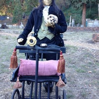 Photo taken at Evergreen Cemetery by Jenni Lynne L. on 10/26/2013