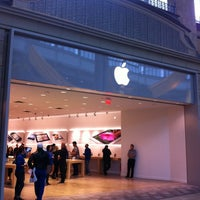 Photo taken at Apple Carrefour Laval by Marc-Andre L. on 9/21/2012
