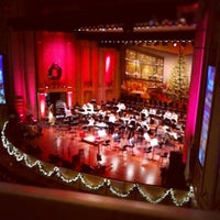 Photo taken at Copley Symphony Hall by Andrew W. on 12/22/2012