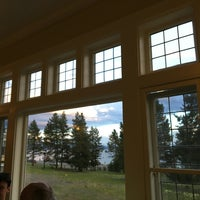 ... Photo Taken At Lake Yellowstone Hotel Dining Room By Haowei C. On 7/7  ...