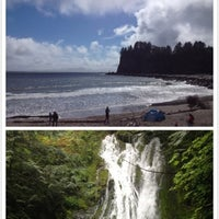 Photo taken at Olympic National Park by Haowei C. on 5/27/2013