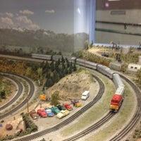 Снимок сделан в San Diego Model Railroad Museum пользователем Haowei C. 4/27/2013