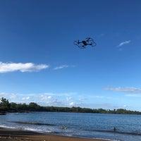 Photo taken at Hana Beach Park by Haowei C. on 12/28/2017