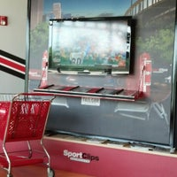 Photo taken at Sport Clips Haircuts of Mooresville by Russell J. on 8/2/2013