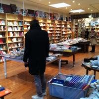 Photo taken at BookCourt by Van V. on 1/1/2013