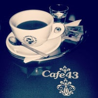 Photo taken at Cafe43 by Hawkeye_ on 12/11/2013