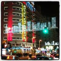 Photo taken at Hotel Emperador Madrid by Fotoseando on 12/20/2012